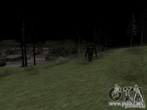 Hombre de nieve para GTA San Andreas segunda pantalla