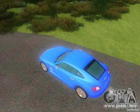Chrysler Crossfire para GTA San Andreas left
