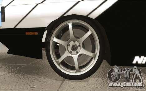 BMW E30 M3 - Coupe Explosive para la vista superior GTA San Andreas