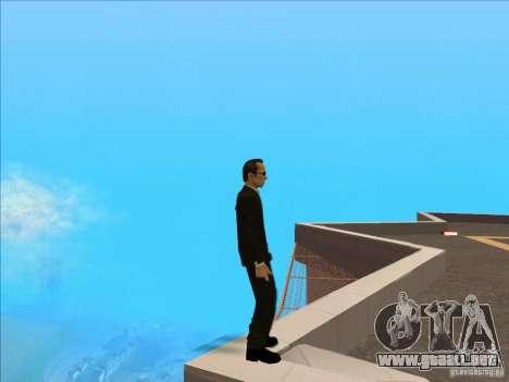 Matrix Skin Pack para GTA San Andreas octavo de pantalla