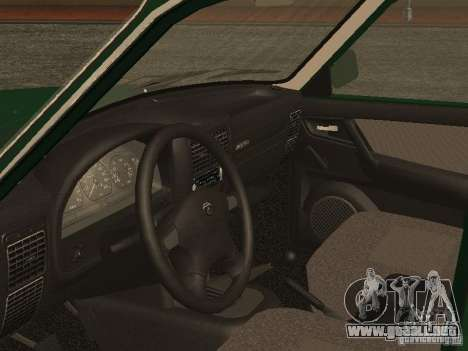 GAZ 3110 v. 2 para GTA San Andreas vista hacia atrás