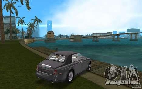 Rolls Royce Phantom para GTA Vice City visión correcta