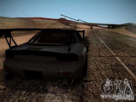 Mazda RX7 Drift para la visión correcta GTA San Andreas