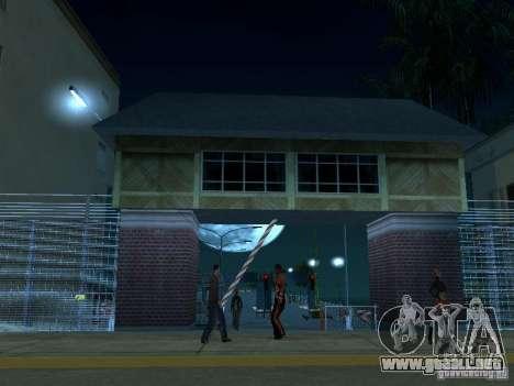 Arrastre ruta v 2.0 Final para GTA San Andreas segunda pantalla