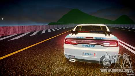 Dodge Charger NYPD 2012 [ELS] para GTA motor 4