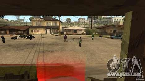 El Grove Street fue atacado por Ballas para GTA San Andreas segunda pantalla
