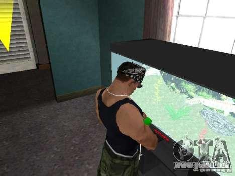 Acuario para GTA San Andreas sucesivamente de pantalla