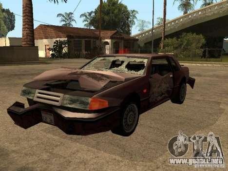 Daños realista para GTA San Andreas