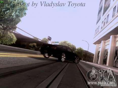 Ford Mustang GT 2011 Unmarked para la vista superior GTA San Andreas