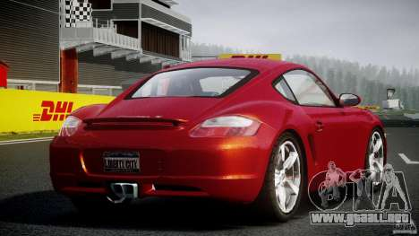 Porsche Cayman S v2 para GTA 4 vista interior