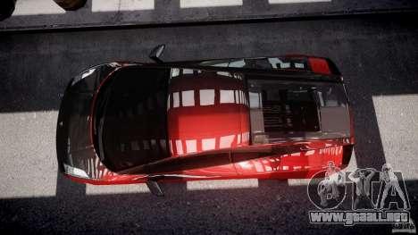 Lamborghini Gallardo Superleggera 2007 (Beta) para GTA 4 visión correcta