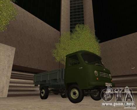 UAZ-450D para la visión correcta GTA San Andreas