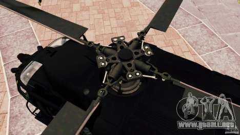 MH-60K Black Hawk para GTA 4 vista interior