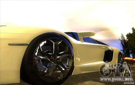 Lamborghini Aventador LP700-4 para el motor de GTA San Andreas