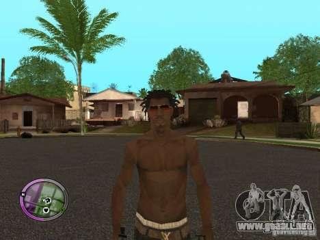 Afro-American Boy para GTA San Andreas quinta pantalla