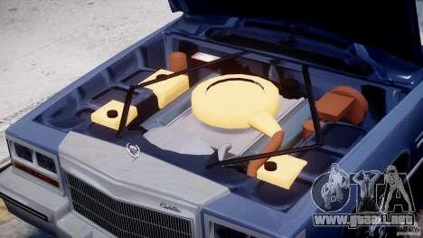 Cadillac Fleetwood Brougham 1985 para GTA motor 4