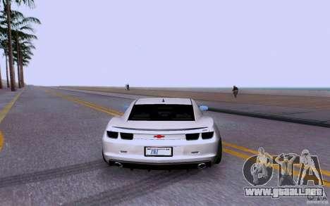 Chevrolet Camaro Super Sport 2012 para la visión correcta GTA San Andreas