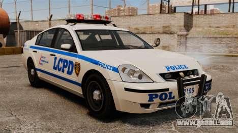 Policía Pinnacle ESPA para GTA 4