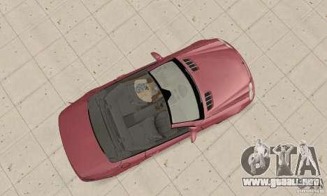 Mercedes-Benz SL500 (R230) para la visión correcta GTA San Andreas