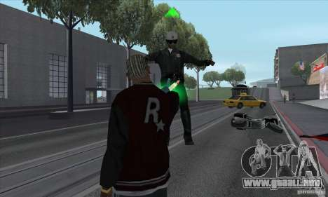 GraviPuška para GTA San Andreas quinta pantalla