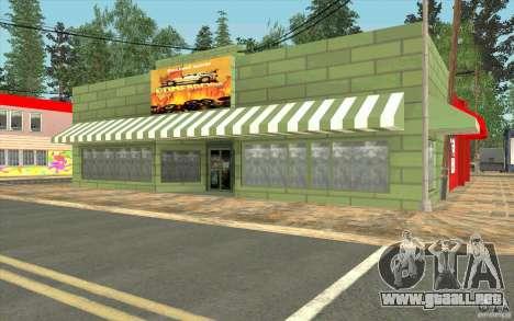 Una aldea nueva Dillimur para GTA San Andreas décimo de pantalla