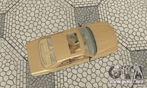 Mercedes-Benz W126 560SEC para la visión correcta GTA San Andreas