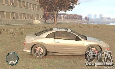 Mitsubishi Eclipse Spyder para GTA 4 left