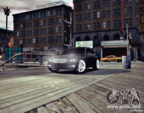 BMW 335i Coupe para GTA 4 left