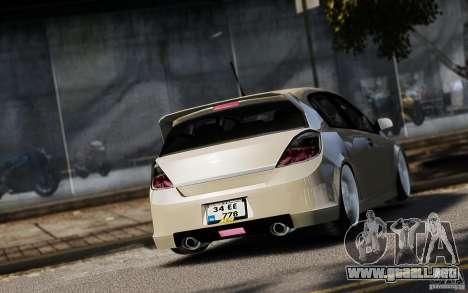 Opel Astra para GTA 4 vista interior