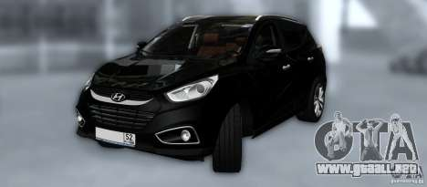Hyundai ix35 para las ruedas de GTA San Andreas