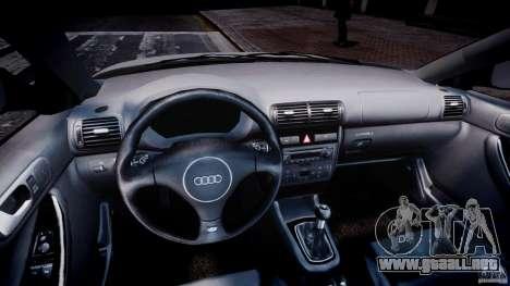 Audi A3 Tuning para GTA 4 vista hacia atrás