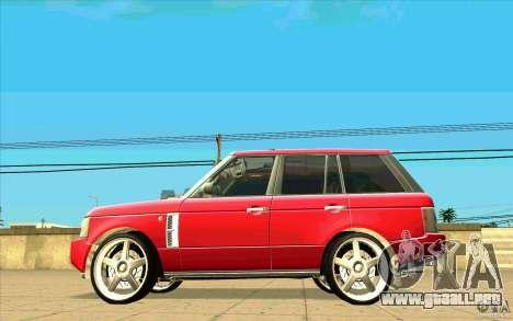 NFS:MW Wheel Pack para GTA San Andreas undécima de pantalla