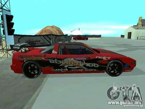 Infernus Drift Edition para GTA San Andreas left