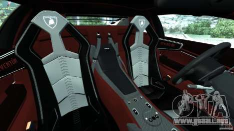 Lamborghini Reventon 2008 v1.0 [EPM] para GTA 4 vista interior