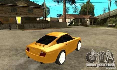 GTA IV Comet para la visión correcta GTA San Andreas