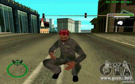 Mechanik HD Skin para GTA San Andreas quinta pantalla