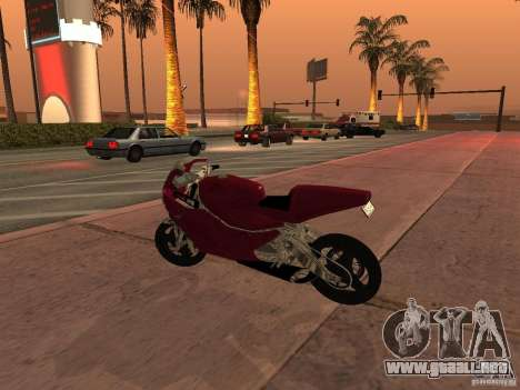 Turbine Superbike para GTA San Andreas left