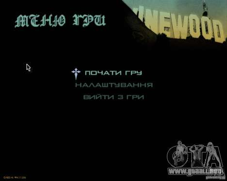Ukraïnizator 2.0 para GTA San Andreas