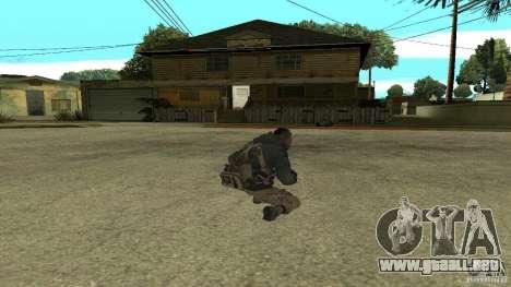 Soap para GTA San Andreas quinta pantalla