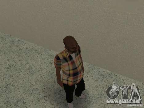 New bmost v2 para GTA San Andreas sucesivamente de pantalla