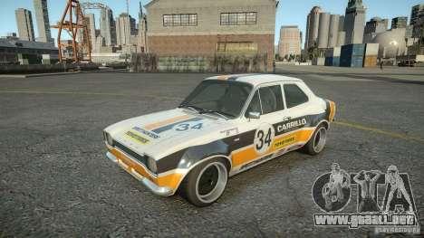 Ford Escort Mk1 para GTA 4