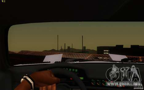 BMW Turbo 1972 para vista lateral GTA San Andreas