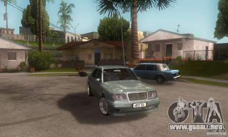 Mercedes-Benz E500 para la visión correcta GTA San Andreas