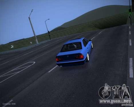 ENB Criminal Stance para GTA San Andreas segunda pantalla