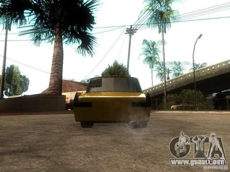 Moskvich 412 Tuning para GTA San Andreas vista posterior izquierda