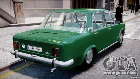 Fiat 125p Polski 1970 para GTA 4 vista desde abajo