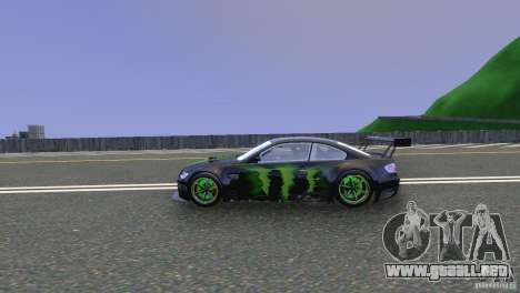 BMW M3 Monster Energy para GTA 4 left