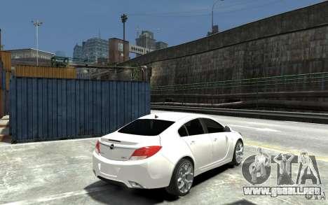 Opel Insignia OPC BETA para GTA 4 visión correcta