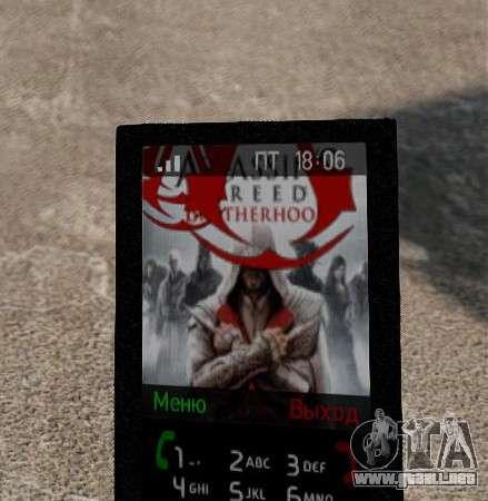 Nuevos temas para tu teléfono para GTA 4 segundos de pantalla