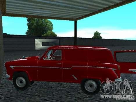 Moskvich 430 para GTA San Andreas vista posterior izquierda